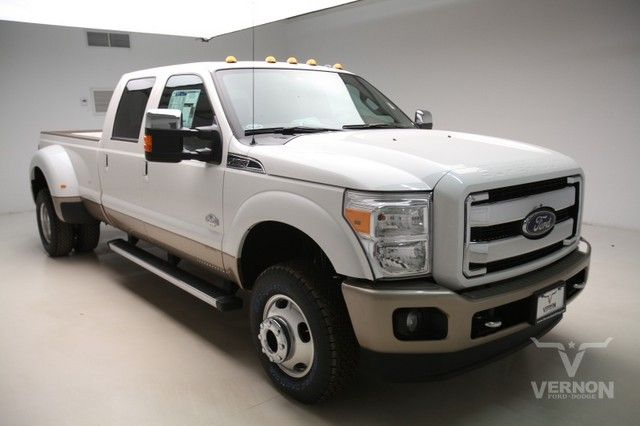 2015 king ranch f350 diesel | ... 8657 exterior white platinum tri coat metallic interior king ranch