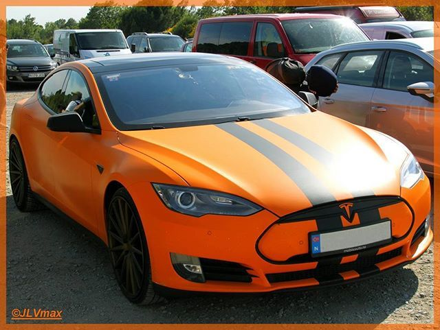 A Tesla model S orange mat in Barcelona (June 2016)  #tesla #teslamotors #teslalife #supercars #luxurycars #electriccar #cars #electric #norway #usa #california #paloalto #orange #halloween #sportcar #models #circuitdebcncat #catalunya #barcelona #montmelo #followme #picoftheday #roadtrip #trip #americancar #visitbarcelona #siliconvalley #smart #canonglobal #canon #montereylocals #pacificgrovelocals- posted by JLVmax https://www.instagram.com/f1_by_jlvmax. See more of Pacific Grove, CA at…