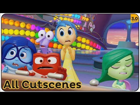 Disney Infinity 3.0 All Cutscenes (Inside Out) - YouTube
