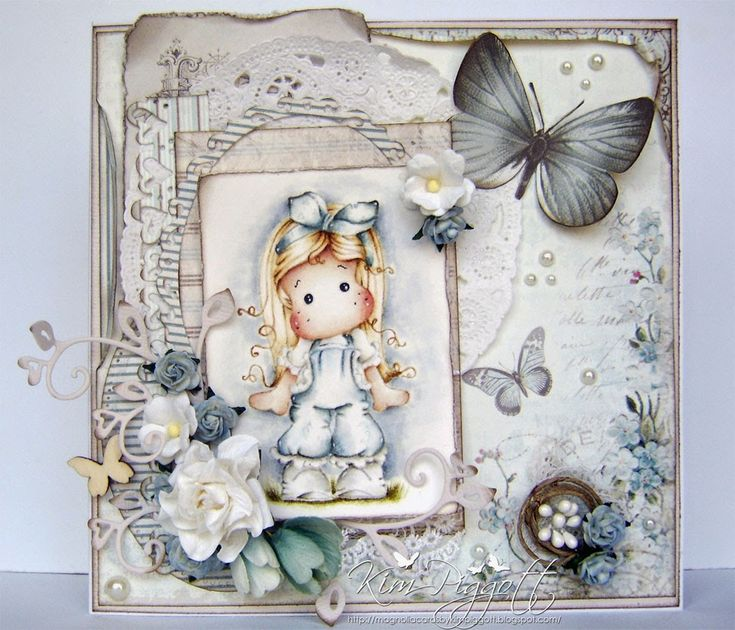Magnolia Cards by Kim Piggott