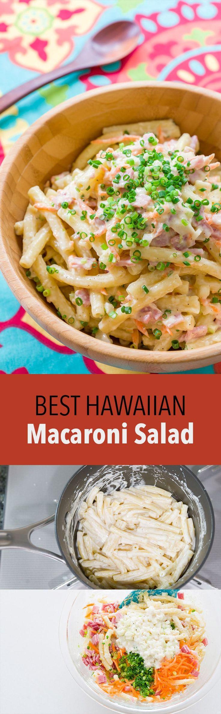 Hawaiian Macaroni Salad Recipe Hawaiian macaroni salad