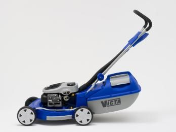 The 'Razor' lawnmower is the first domestic product to be released in a major redesign of Victa's products. It represents a contemporary redesign of an iconic Australian product. By redesigning its mower range Victa aimed to reinvigorate its image as an innovative company leading in the lawncare industry.