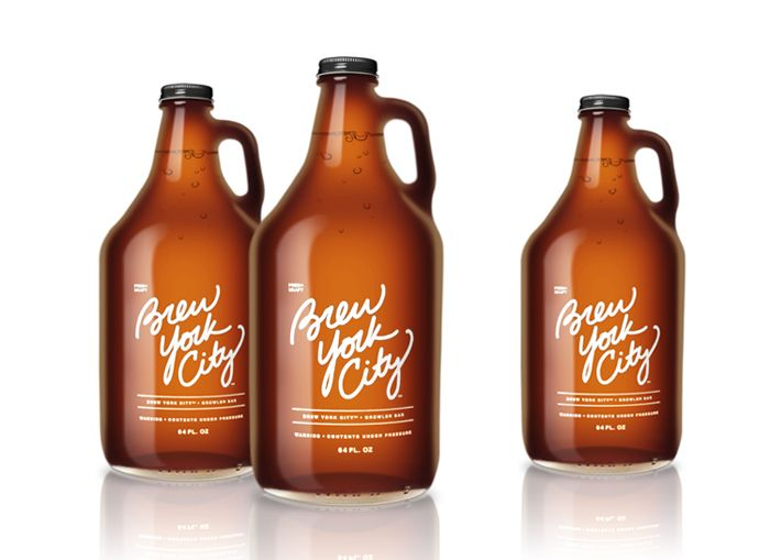 Brew York City packaging