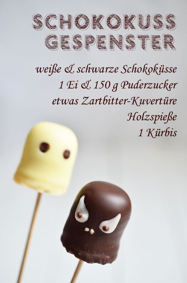 Rezept für die Halloween-Party: Schokokuss-Gespenster (www.rheintopf.com) #rezept #recipe #halloween – Maren | (rh)eintopf