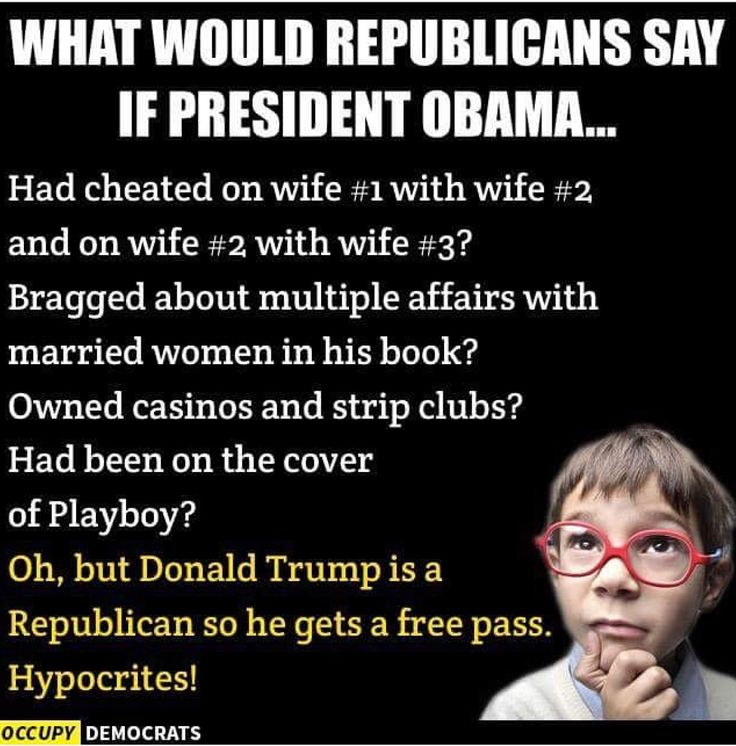 It's truly disgusting how Republicans openly displayed such Disrespect and Visceral Hatred towards President Obama the last 8 years. Of course we All know it's because of his Skin Color....certainly not for any of the Public Shenanigans Trump is known for. President Obama has had a Decent and Scandal Free Presidency!!! Now Republicans have chosen a A-Moral, Racist, Unqualified Adulterous Pig as their Leader. Hypocrisy at its best.