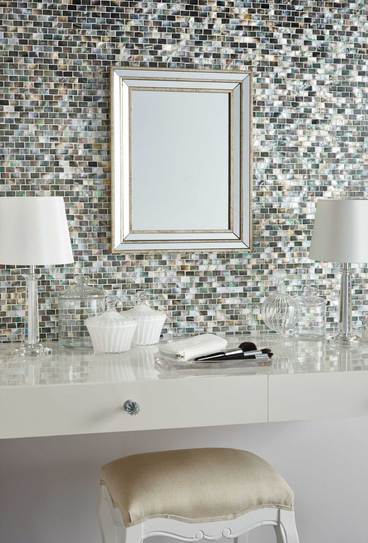 Mother Of Pearl Mosaic by Original Style.