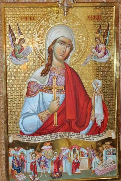 St Agatha.
