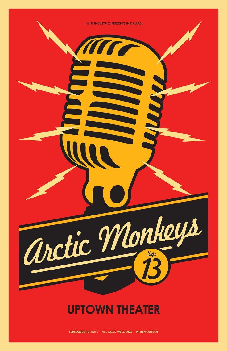 Arctic monkeys band poster