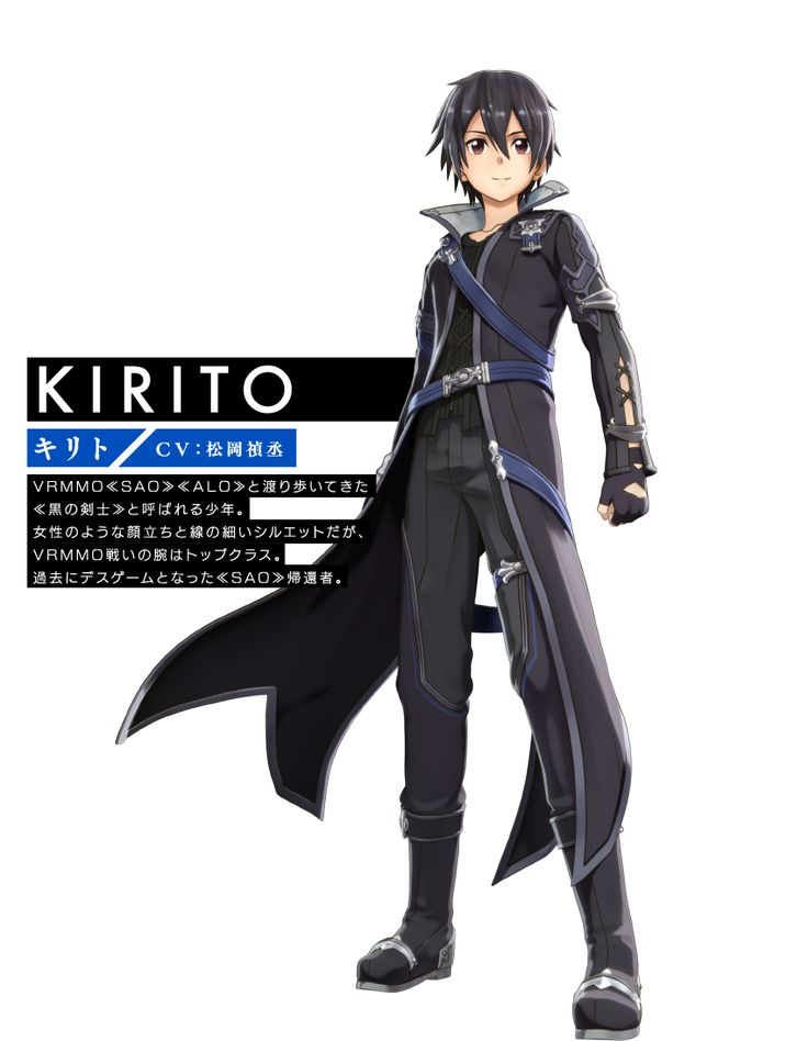 GOOD I liked Kirito's first outfit the best so I'm glad it looks fairly similar