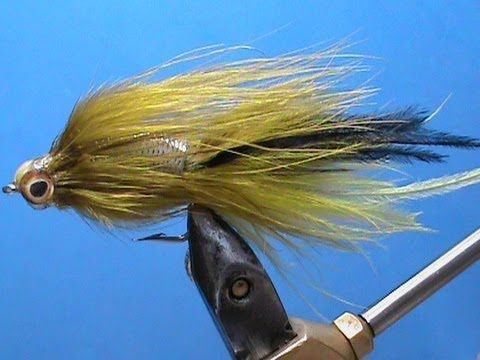Fly Tying a Rattling Bass Streamer with Jim Misiura