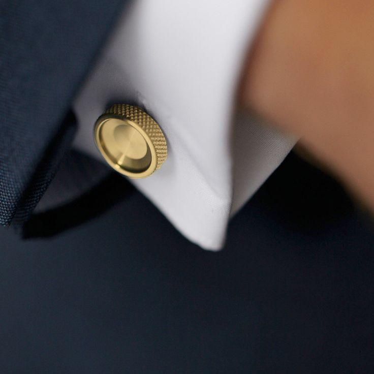 Brass cufflinks | Alice Made This