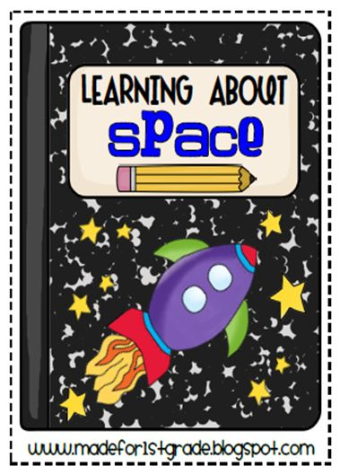FREE - two creative writing lesson plans and art projects to use during space unit