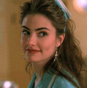 "Mädchen Amick as waitress Shelly Johnson in David Lynch's ""Twin Peaks"" (1990-91)"