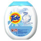 #2: Tide PODS Free & Gentle HE Turbo Laundry Detergent Pacs 81-load Tub