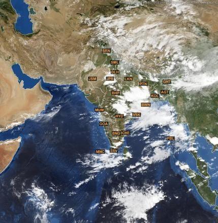 Latest METEOSAT satellite Image of India for 30 June 2015   http://www.skymetweather.com/meteosat/weather-satellite-images-of-india/