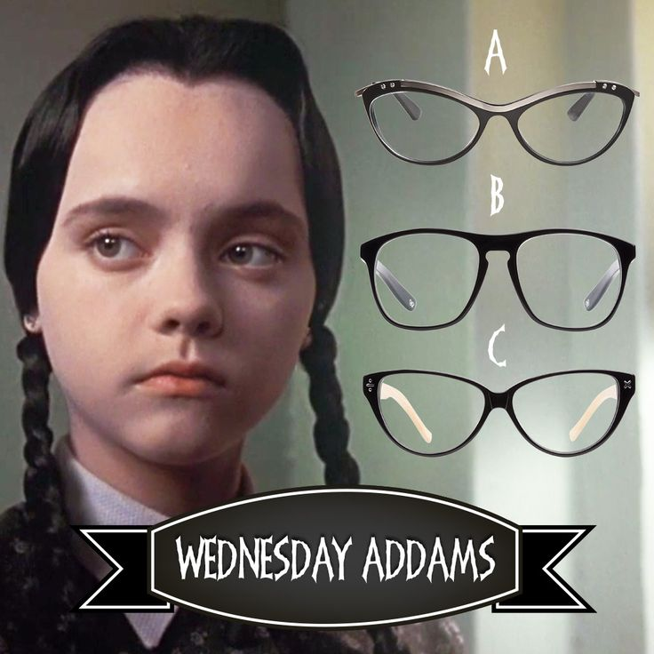 Wednesday needs your #style help! Enter to #WIN a pair of #glasses by voting for which #frames suit her the most on Instagram: http://instagram.com/p/utyHtqRc9C/?cmp=social&src=pn&seg=au_14-10-29_wednesdayaddams-smco  #competition   #giveaway    #halloween