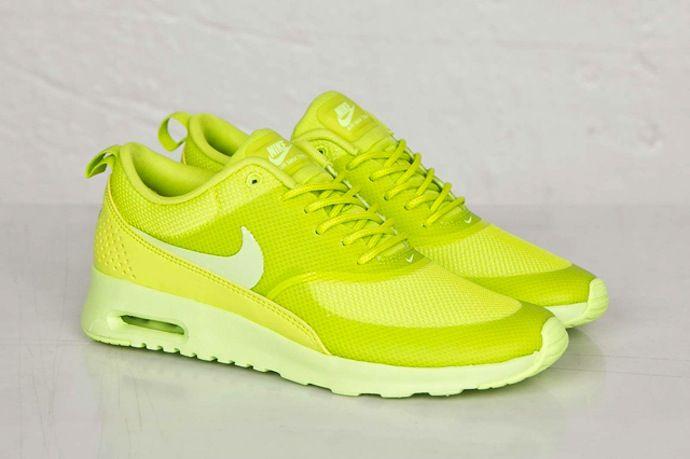 NIKE – AIR MAX THEA (CYBER) # #nike #airmax #thea #cyber #sneakers #fluo #green