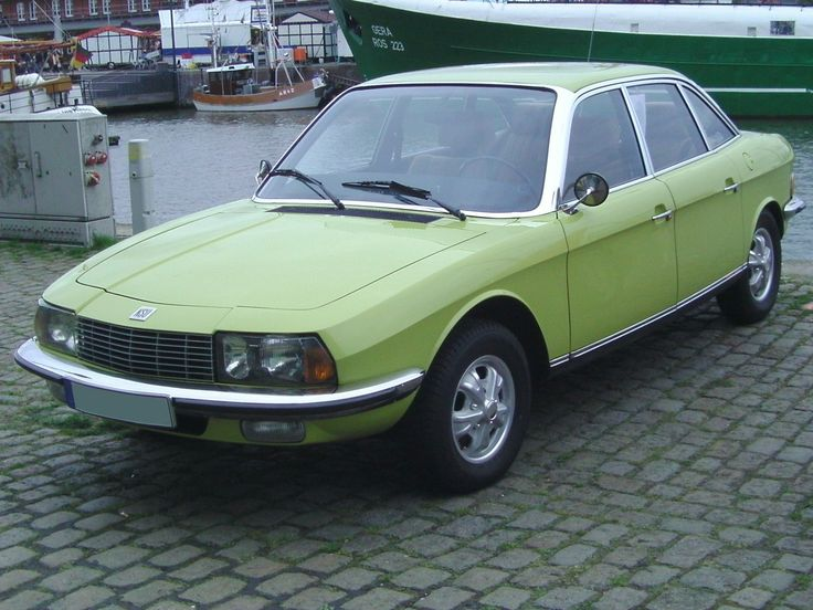 NSU RO80 – light years ahead of its time, and it still looks it. Great colour.