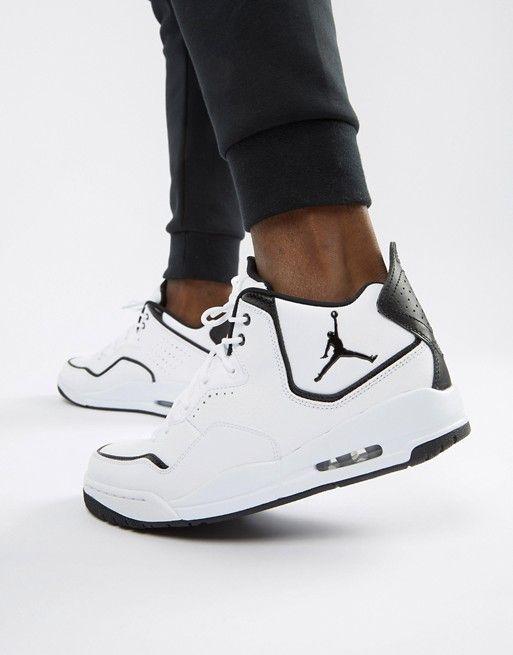 28c81ed4d9b2 Белые кроссовки Nike Jordan Courtside 23 AR1000-100 в 2019 г.