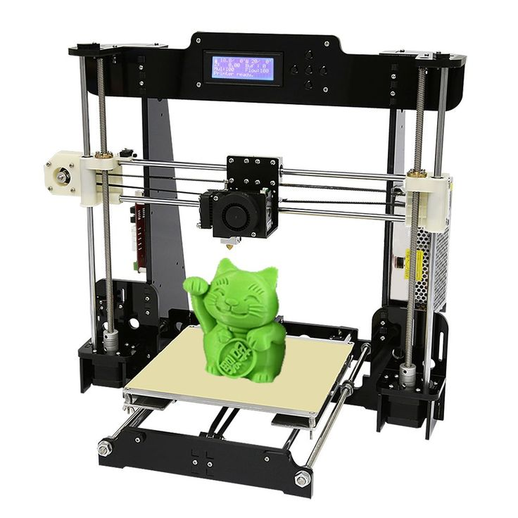 Cheaper US $158.76  Normal & Auto Level Anet A8 A6 DIY 3D Printer Kit Reprap Prusa i3 Large Cheap 3D Printers with 0.5kg / 1kg filament  #Normal #Auto #Level #Anet #Printer #Reprap #Prusa #Large #Cheap #Printers #filament  #BlackFriday