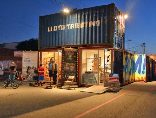 Granary Row Shipping Container Pop up Market Jump Starts