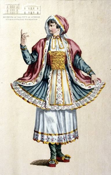 FAUVEL (?) Womans attire from Naxos