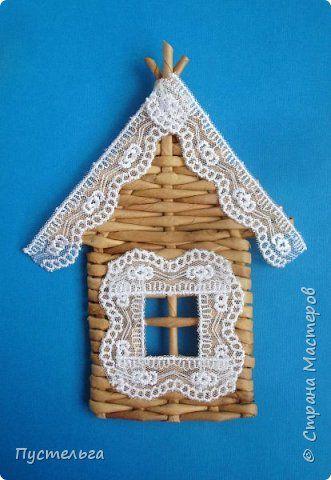 Домик для детских МК  (ёлочное украшение) фото 1