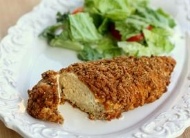Fiber-One Parmesan Crusted Chicken-  This site has a lot of great recipies