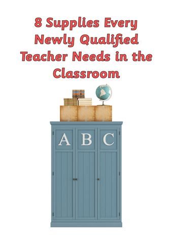 8 supplies every newly qualified teacher needs in the classroom // Splash Resources // Australian Curriculum aligned maths, english, science and history teaching resources // www.splashresources.com.au