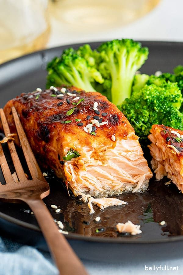 Are you ready for the best tasting glazed salmon of your ...