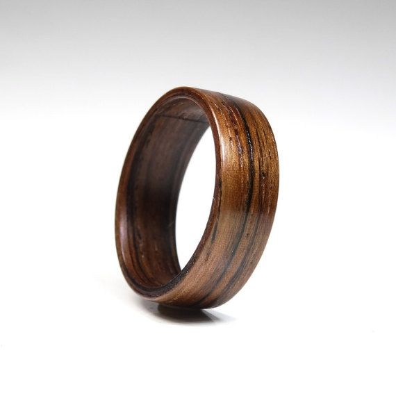Wooden Ring – Wood ring for men from Brazilian Rosewood – wooden jewelry – engagement ring – wood ring for women – wood ring for men