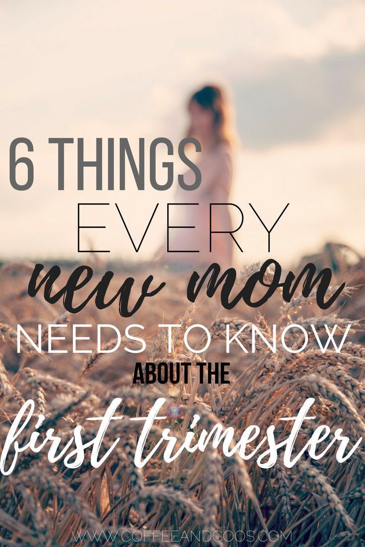 Congratulations! You're pregnant! Now what? Find out 6 things you need to know about your first trimester. Baby | Pregnancy | Kids | Motherhood