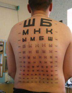 Tattuaggi scritte