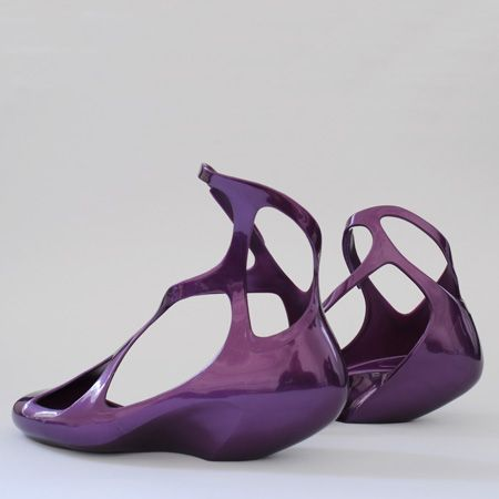 Zaha Hadid: her shoes for Brazilian plastic footwear brand Melissa - these are some of my all-time favourites