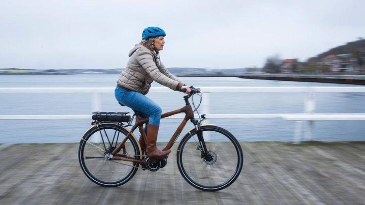 Fahrradrahmen aus Bambus. Kaum ein Rohstoff ist so nachhaltig wie Bambus. Daraus lassen sich sogar Rahmen für Fahrräder bauen.