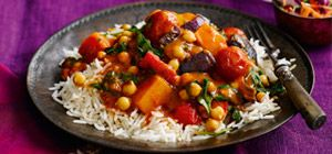 This veg-packed curry is brimming with flavour and is ready in only 30 minutes, using the Tikka Masala sauce from Slimming World's food range.