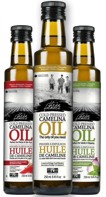 Camelina Oil | Three Farmers