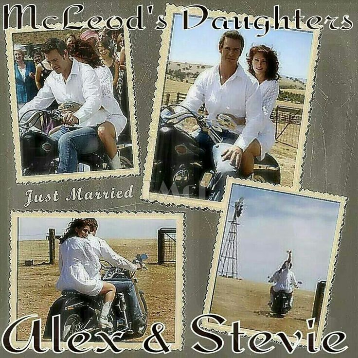 McLeod's Daughters Wallpaper by Elizabeth McFarland- Stevie & Alex's Wedding Album