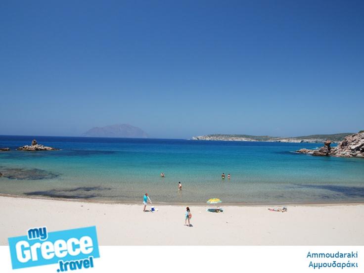 Ammoudaraki Beach in Milos by www.milos-tours.gr/en/