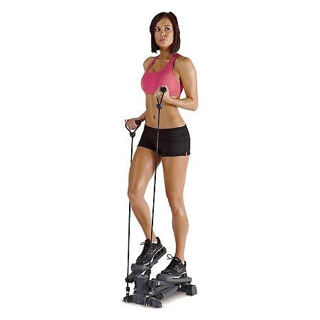 Impex Marcy Mini-Stepper with Resistance Bands