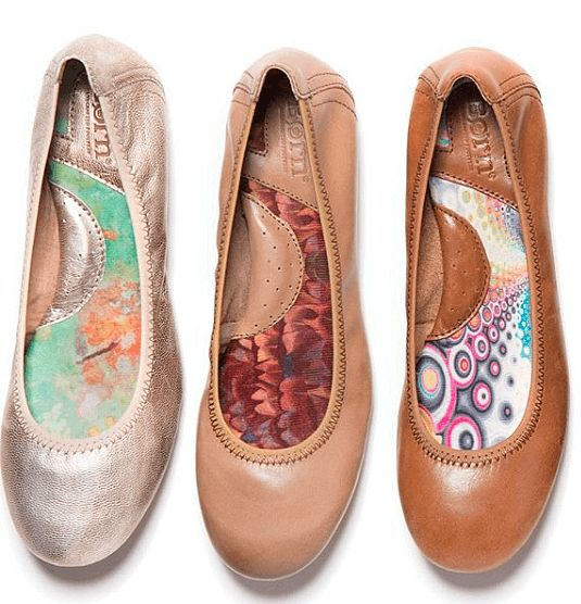 Comfortable Ballet Flats : Born Julianne