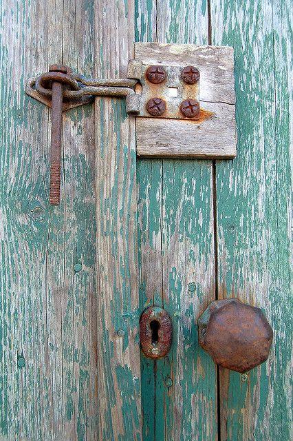 Door, St. Margaret's Hope, Orkney, Scotland