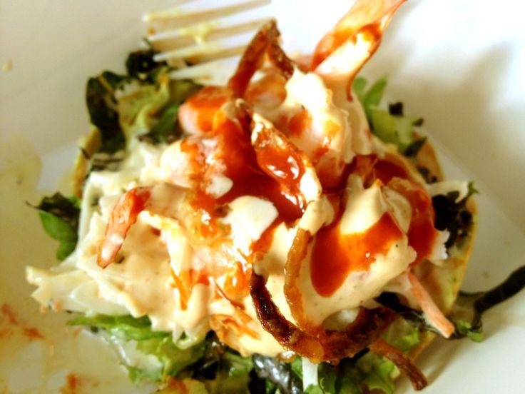 Tostada de Ceviche | De Maíz y de mi Corazón | Pinterest
