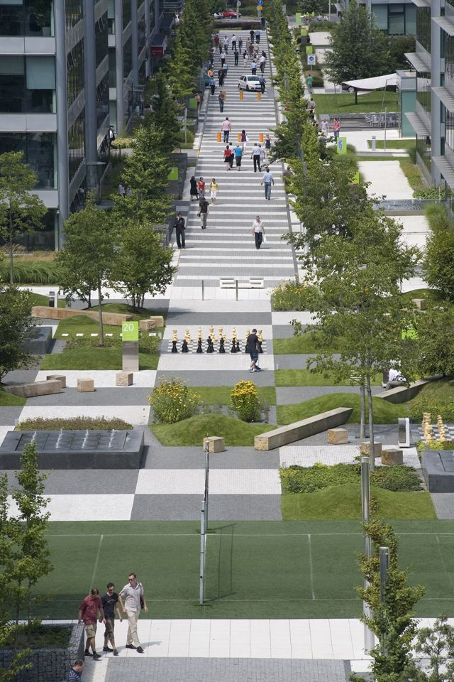 Cigler Marani Architects' Patchwork Park