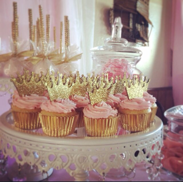 princess candydessert table by bizzie bee creations