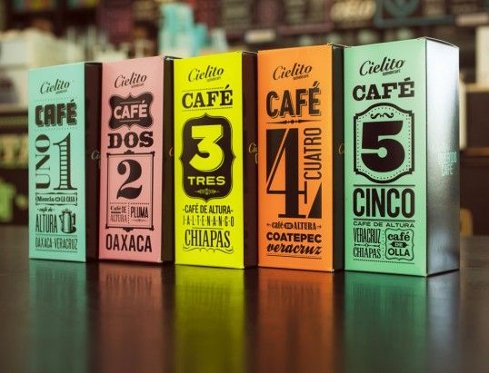 CIELITO ® it is a Latin American reinvention of the coffeehouse experience, Designed by Cadena+Asoc. Branding #packaging #identity #cafe