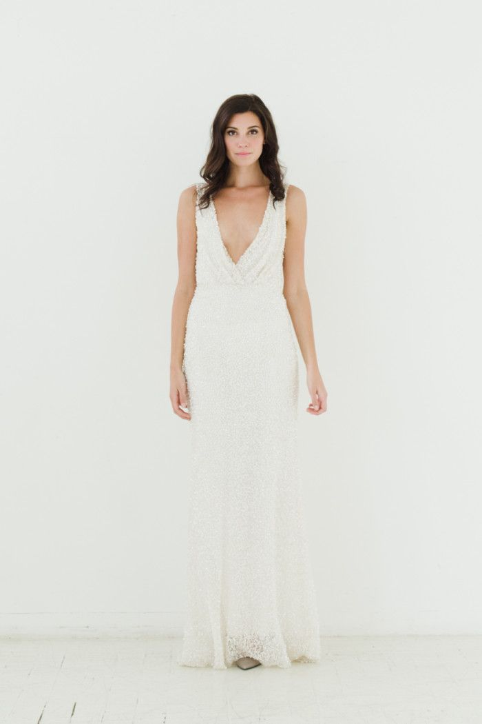 Sarah Seven Wedding Dresses Fall 2015 'RIvington' Sarah Seven Black Label