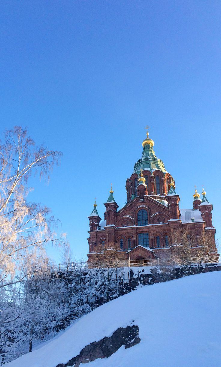 Experience amazing freezing Helsinki, Finland!