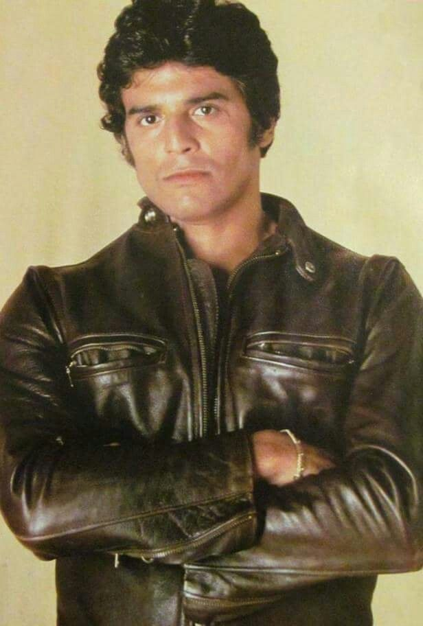 Ponch in leather