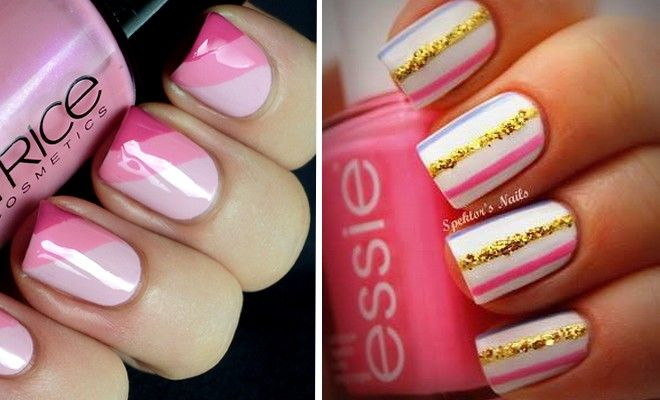 Φθινοπωρινό Μανικιούρ με 20+ ιδέες για nail art με ρίγες!